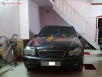 Cần bán xe Mercedes C180 đời 2003, màu đen còn mới