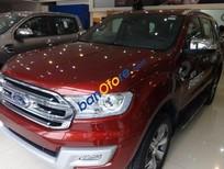 Bán Ford Everest đời 2016, màu đỏ, nhập khẩu nguyên chiếc
