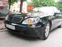Bán Mercedes S550 năm 2001, màu đen, xe nhập chính chủ, giá 460tr