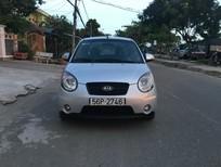 Cần bán lại xe Kia Morning SLX 2008, màu bạc, nhập khẩu chính hãng, 292 triệu