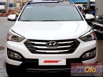 Bán ô tô Hyundai Santa Fe 2.4AT 4WD đời 2015, màu trắng, số tự động