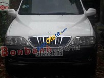 Bán ô tô Ssangyong Musso đời 2002, màu trắng, nhập khẩu chính hãng