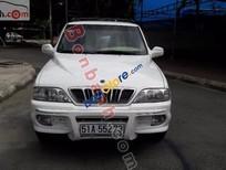 Bán xe Ssangyong Musso 2003, màu trắng còn mới, giá tốt