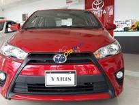 Toyota Yaris E đời 2016, màu đỏ, xe nhập. Cam kết giá tốt nhất tại Miền Nam - Có xe giao ngay