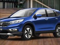 Bán ô tô Honda CR V 2.4 AT đời 2016, màu xanh lam