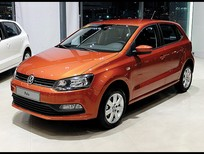 Bán xe Volkswagen Polo  Hacthback nhập 100% đời  2016, màu cam nhập khẩu Đức. LH 0916777090