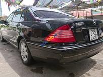 Cần bán Mercedes S550 đời 2001, màu đen, nhập khẩu chính hãng còn mới