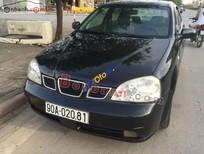 Bán ô tô Daewoo Lacetti đời 2005, màu đen, 179tr