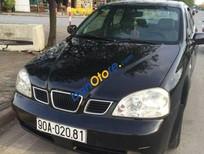 Mình có xe Daewoo Lacetti MT đời 2005, màu đen số sàn, giá tốt cần bán