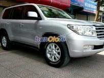 Cần bán gấp Toyota Land Cruiser VX V8 đời 2011, màu bạc, nhập khẩu nguyên chiếc