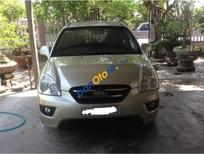 Cần bán xe Kia Carens đời 2010, màu vàng