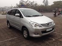 Cần bán xe Toyota Innova 2.0 G 2011, màu bạc giá cạnh tranh