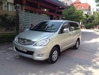 Cần bán gấp Toyota Innova 2.0 G 2011, màu bạc, giá chỉ 535 triệu