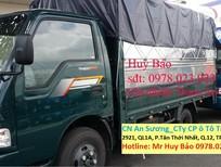 Xe tải Thaco Frontier (1,25 tấn / 1,4 tấn / 1,9 tấn / 2,4 tấn) mới 100%, có bốn màu vàng, trắng, xanh rêu, xanh dương