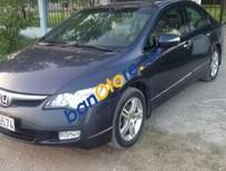 Bán Honda Civic đời 2007, màu đen, giá bán 445tr