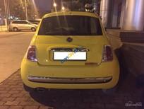 Cần bán xe Fiat 500 C đời 2009, màu vàng, nhập khẩu nguyên chiếc