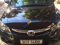 Bán xe Honda Civic đời 2010, màu đen
