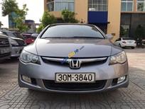 Bán xe Honda Civic 1.8AT đời 2008, màu xám