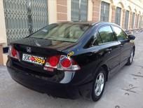 Bán Honda Civic 1.8 đời 2008, màu đen, giá bán 420 triệu