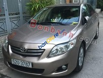 Cần bán Toyota Corolla altis 1.8MT đời 2009, màu vàng số sàn