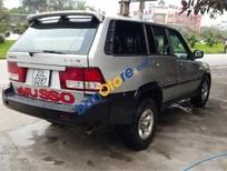 Cần bán lại xe Ssangyong Musso đời 2002, màu bạc, giá chỉ 175 triệu
