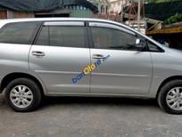 Bán Toyota Innova G năm 2011, màu bạc, hai dàn lạnh, 8 chỗ ngồi