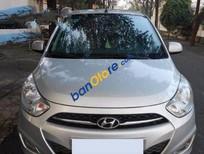 Cần bán lại xe Hyundai i10 đời 2012, màu bạc số tự động
