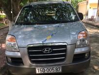 Cần bán xe Hyundai Starex GRX đời 2006 đăng ký lần đầu 2008, màu bạc, nhập khẩu nguyên chiếc