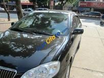Cần bán xe Toyota Corolla altis 1.8 đời 2008, màu đen đã đi 48000 km