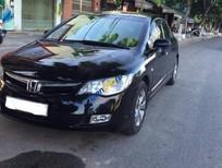 Cần bán lại xe Honda Civic 1.8MT năm 2007, màu đen chính chủ, giá chỉ 398 triệu