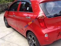 Bán Kia Morning AT đời 2014, màu đỏ, xe nhập, 386 triệu