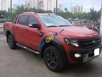 Cần bán xe Ford Ranger WildTrak sản xuất 2014, màu đỏ, nhập khẩu, giá tốt