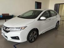 Bán ô tô Honda City CVT 2016, màu trắng giá tốt nhất ( hỗ trợ cho vay lên đến 80%)