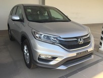 Cần bán Honda CR V 2.0 2016, màu bạc giá tốt nhất ( có hỗ trợ ngân hàng cho vay lên đến 85%) thủ tục nhanh gọn
