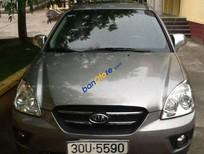 Cần bán xe Kia Carens SX đời 2009, màu xám xe gia đình
