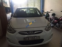Bán Hyundai Accent đời 2011, màu trắng số sàn, giá tốt