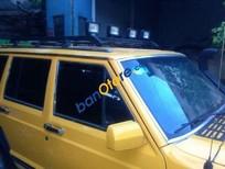 Bán xe Jeep Cherokee đời 1998, màu vàng, nhập khẩu chính hãng ít sử dụng, 205 triệu