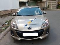 Cần bán Mazda 3 sản xuất 2013, màu vàng