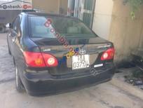 Cần bán gấp Toyota Corolla altis 1.8MT sản xuất 2002, màu đen chính chủ
