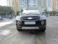 Cần bán Chevrolet Captiva LTZ 2008, màu đen, 395tr