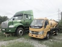 Xe hút bùn Forland 2m3, hàng nhập khẩu nguyên chiếc, giao ngay