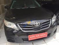Cần bán gấp Toyota Camry 2.5 LE đời 2011, màu đen, nhập khẩu chính hãng chính chủ