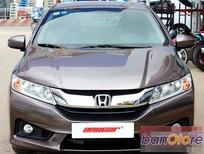 Bán ô tô Honda City 1.5AT đời 2015, màu nâu, số tự động