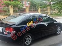 Cần bán Honda Civic 1.8MT 2008, màu đen chính chủ