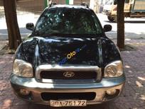 Bán Hyundai Santa Fe Gold đời 2003, màu đen, nhập khẩu chính hãng chính chủ, giá chỉ 350 triệu