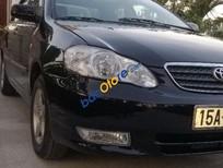 Cần bán lại xe Toyota Corolla 2003, màu đen, giá chỉ 250 triệu