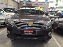 Cần bán Toyota Fortuner 2.7V đời 2014, màu nâu