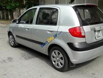 Cần bán lại xe Hyundai Getz đời 2009, màu bạc, giá 248tr