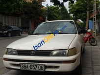 Cần bán lại xe Toyota Corolla 1.6 đời 1993, màu trắng, giá 132tr