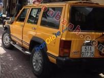 Cần bán Jeep Cherokee đời 1998, màu vàng, xe nhập, giá chỉ 170 triệu